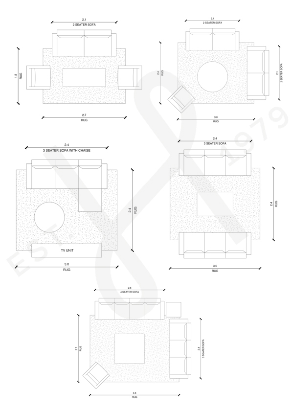 Sofa Layouts