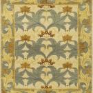 Pattern view image showcasing the design of the Fintona Light Blue 20th century william morris rug from the Hali collection